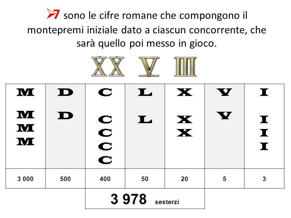 7 sono le risposte ad ognuna di queste semplici domande: se il concorrente risponde esattamente può giocare, altrimenti finisce nel LIMBO, il settore
