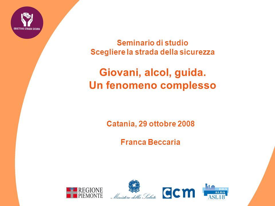 Ricerca guidatore designato - Bob Fonte: Dati regione Piemonte, nov 2004 – genn 2005