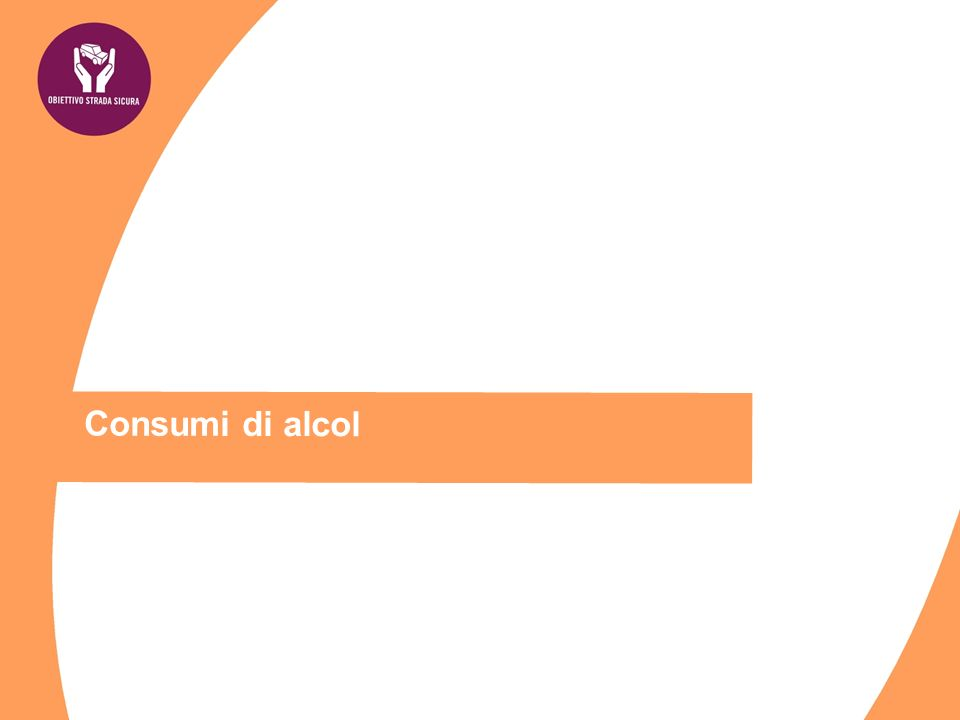 Consumi di alcol