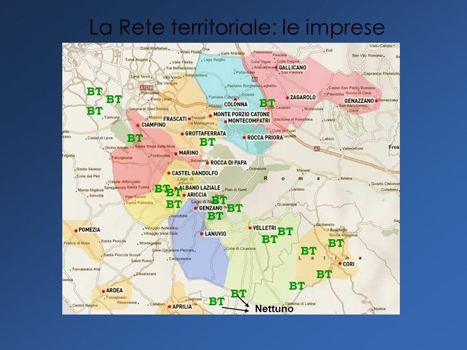 BT Nettuno BT La Rete territoriale: le imprese