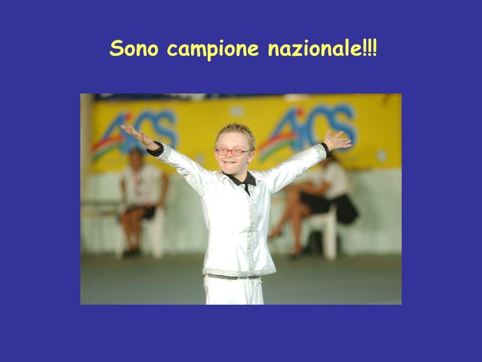 Sono campione nazionale!!!