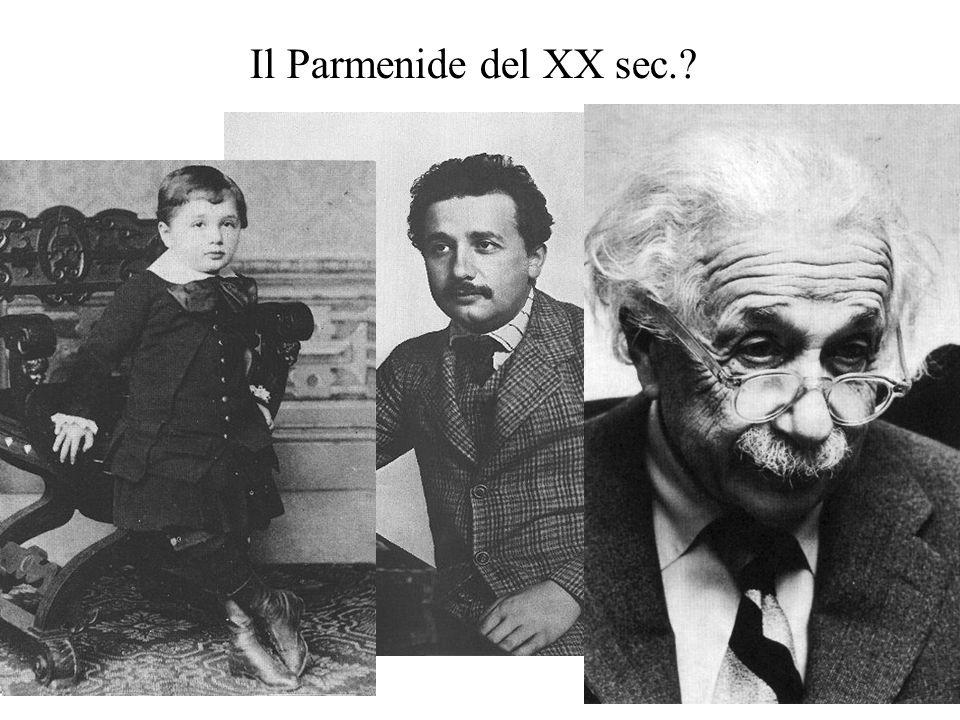 Il Parmenide del XX sec.?