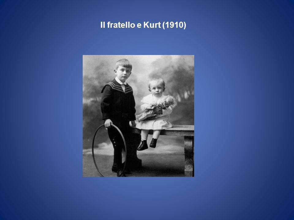Kurt e sua moglie Adele il giorno delle nozze Vienna 1938