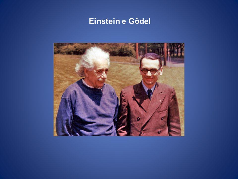 Gödel e Einstein a Princeton nel 1954