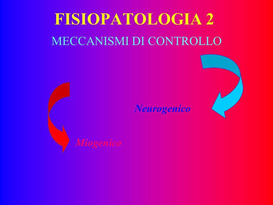 FISIOPATOLOGIA 1 La perfusione dei microvasi dipende: – dalla tonoregolazione arteriolare, –dalle determinanti reologiche del sangue –dalle deterninan