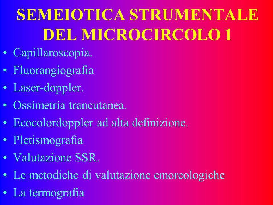 EMOREOLOGIA 6 La emoreologia è inoltre influenzata dalla variazione di calibro dei capillari. Le variazioni di calibro possono essere: –attive –passiv
