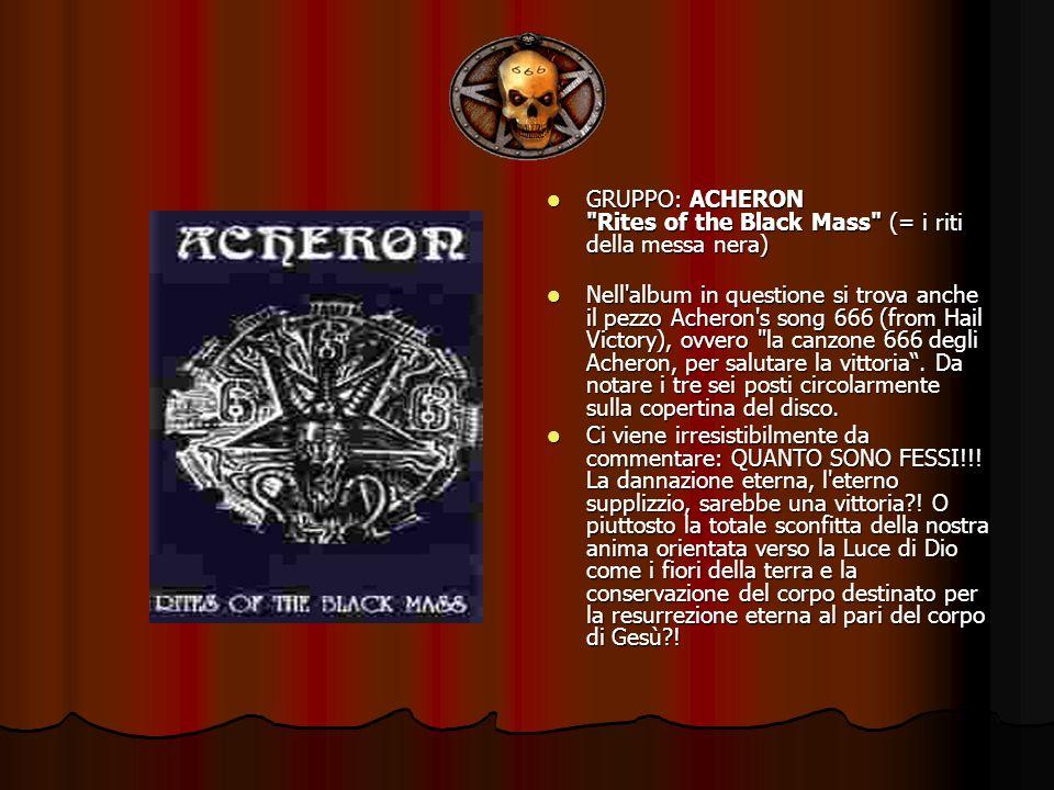 GRUPPO: ACHERON