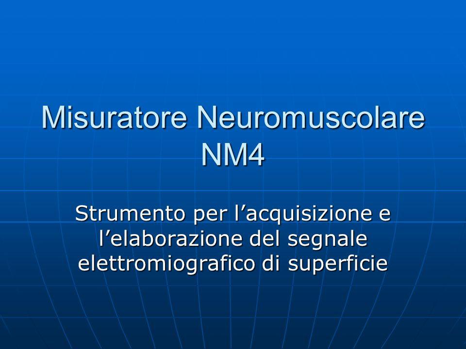Principi di funzionamento Lelettromiografia (EMG) è la registrazione dellattività elettrica del muscolo.