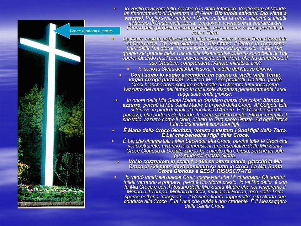 La M di MARIA sovrasta il Mondo, come la Croce sovrasta la M.