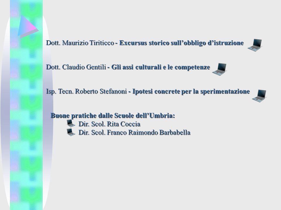 Dott. Maurizio Tiriticco - Excursus storico sullobbligo distruzione Dott.