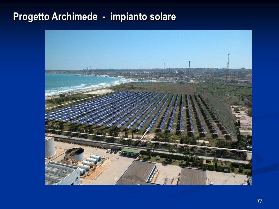 77 Progetto Archimede - impianto solare