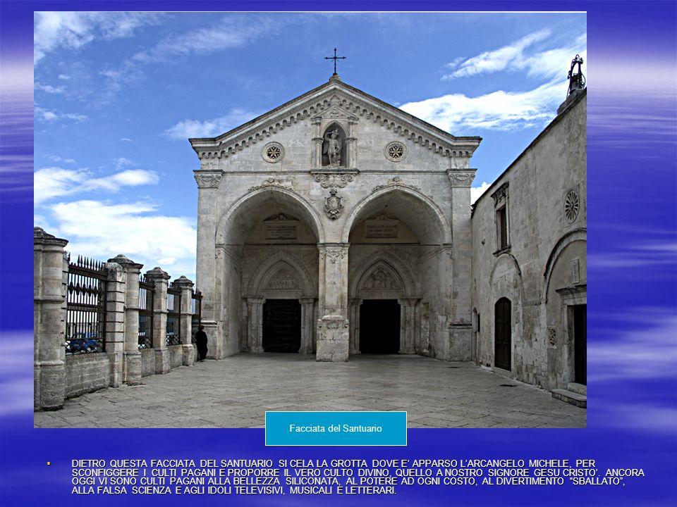 La storia del Santuario trae le sue origini dalle apparizioni verificatesi dal 490 al 493 d.c.