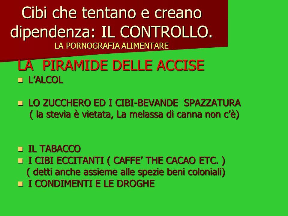 Cibi falsi: gli additivi Gusto 2- Acqua, latte scremato in polvere, edulcorante isomalto, agente di carica polidestrosio, maltodestrina,edulcorante lactitolo, fibra vegetale, emulsionante (E-471), stabilizzanti (E-407, E-466, E-410, E- 422),edulcorante aspartame, edulcorante acesulfame K, aromi, coloranti (E-104, E-1 10).