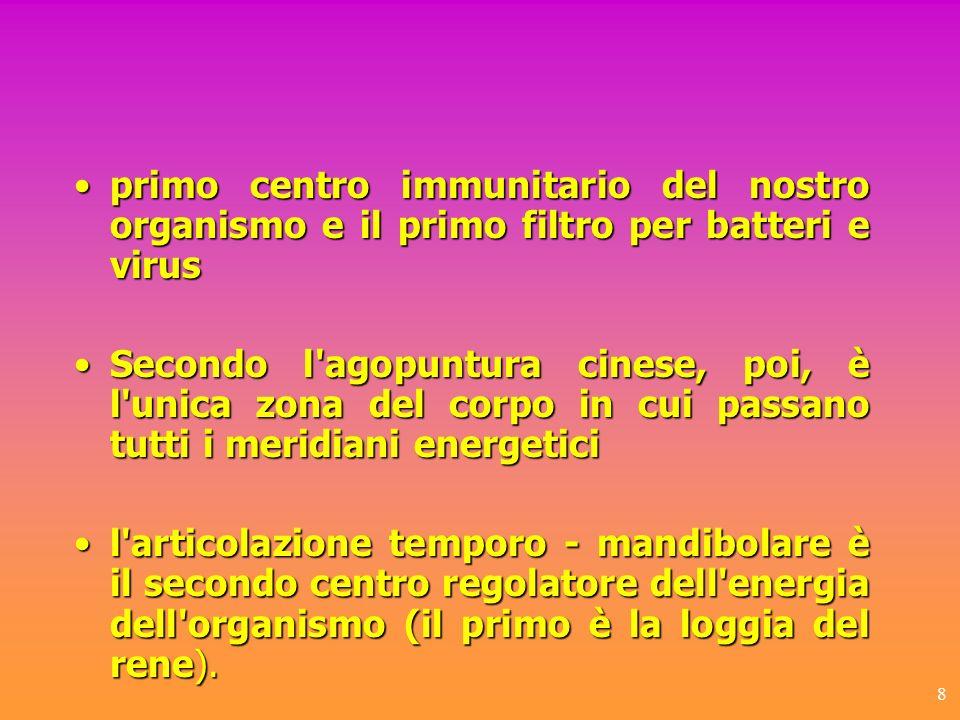 8 primo centro immunitario del nostro organismo e il primo filtro per batteri e virusprimo centro immunitario del nostro organismo e il primo filtro p