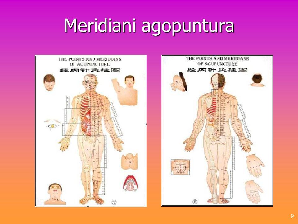 9 Meridiani agopuntura