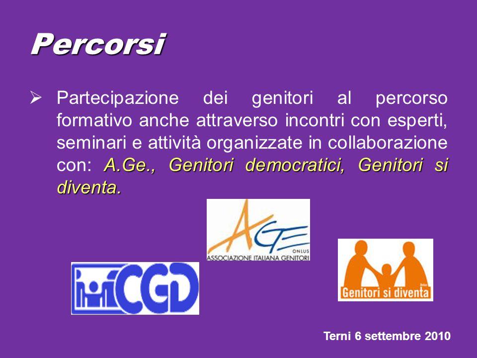 Percorsi Coinvolgimento delle associazioni e delle federazioni sportive: CEFFAS, CLT, scherma, associazione judo, pallavolo, pallacanestro, nuoto, golf, ecc.