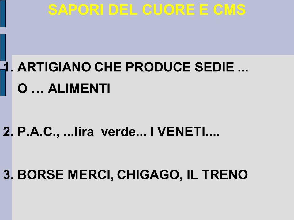 SAPORI DEL CUORE E CMS 1. ARTIGIANO CHE PRODUCE SEDIE...