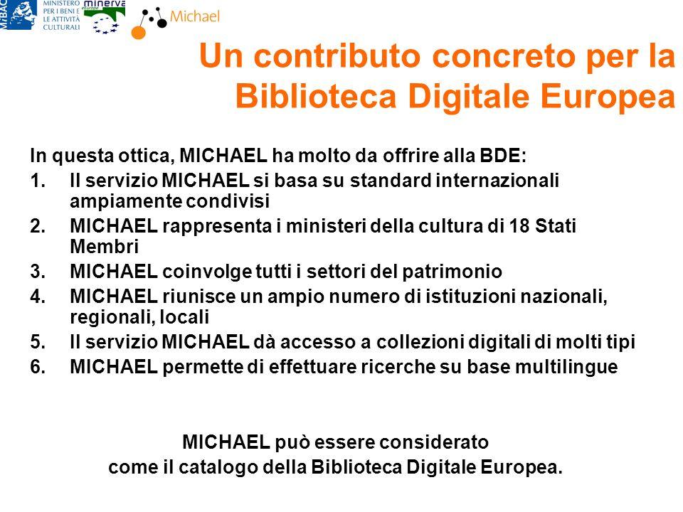 Rossella Caffo, MiBACBologna, 22 febbraio 2008 Michael IT SBN Internet Culturale Linteroperabilità SIUSA SAN DB ARCHIVI Collezioni digitali OPAC Nazionale ICCU BancaDati DG Inn.