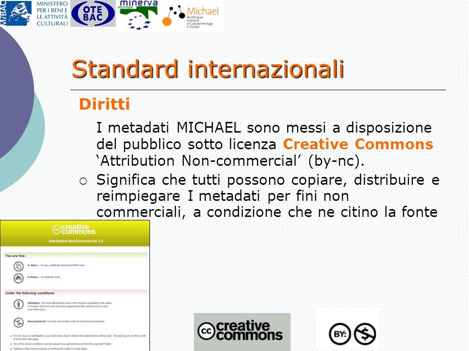 Giuliana De Francesco Milano, 13 dicembre 2007 Diritti I metadati MICHAEL sono messi a disposizione del pubblico sotto licenza Creative Commons Attrib