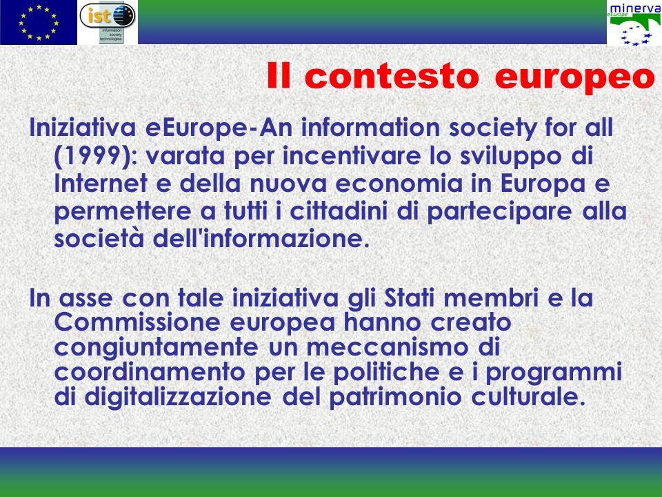 La rolling agenda MINERVA ha contribuito a creare un processo di collaborazione istituzionale nel campo della digitalizzazione del patrimonio culturale tra le presidenze del Consiglio dei ministri della cultura dellUnione Europea.