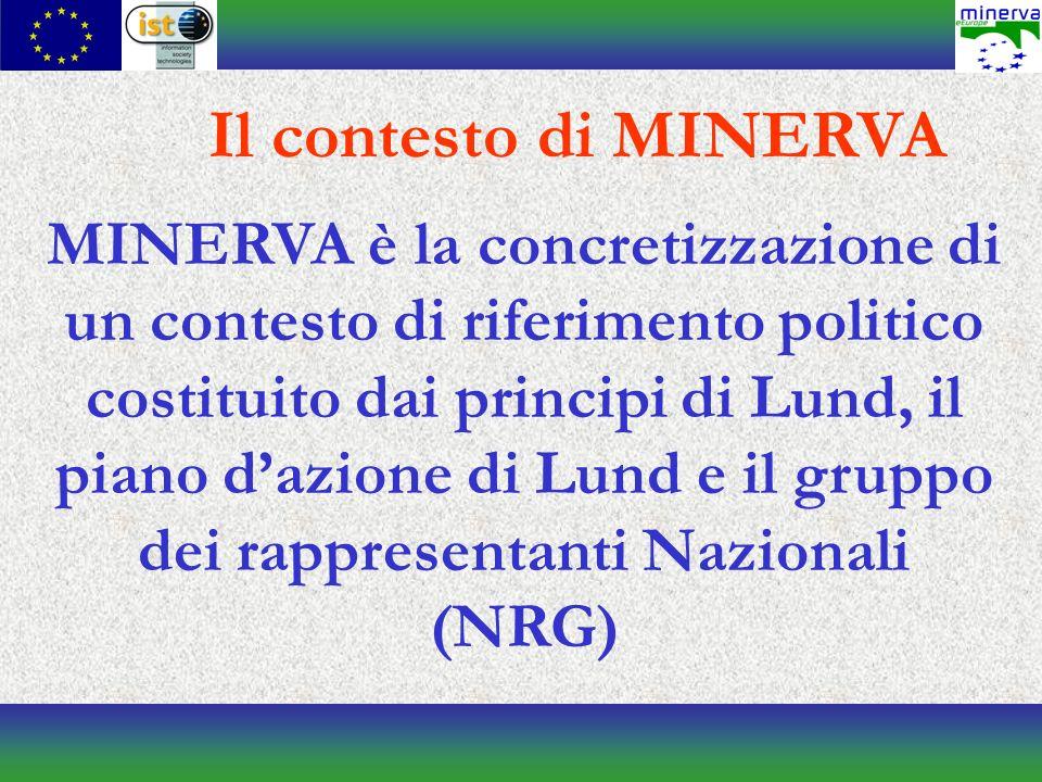 Cosè MINERVA MINERVA è lo strumento operativo del NRG.