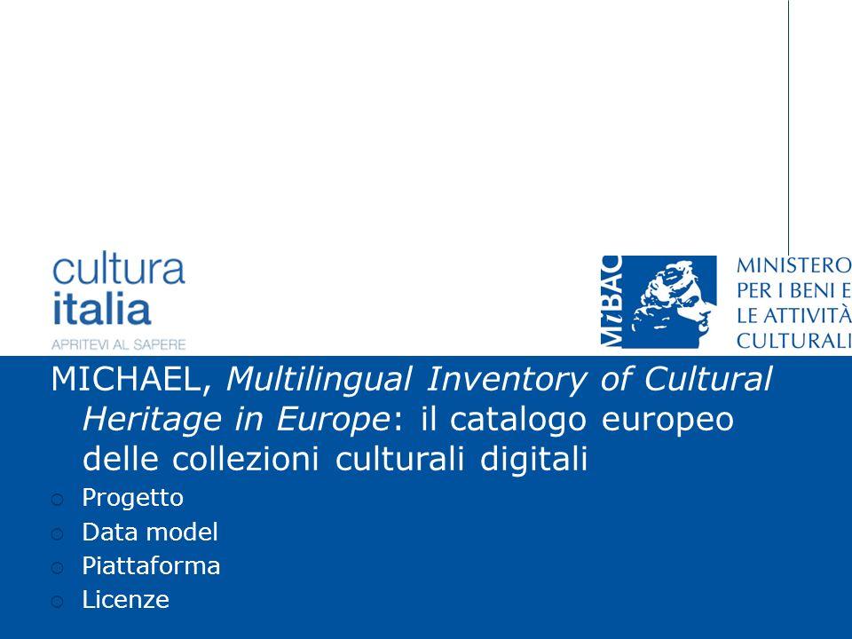Giuliana De Francesco Torino, 16 dicembre 2006 Dipartimento per la ricerca, linnovazione e lorganizzazione MICHAEL, Multilingual Inventory of Cultural