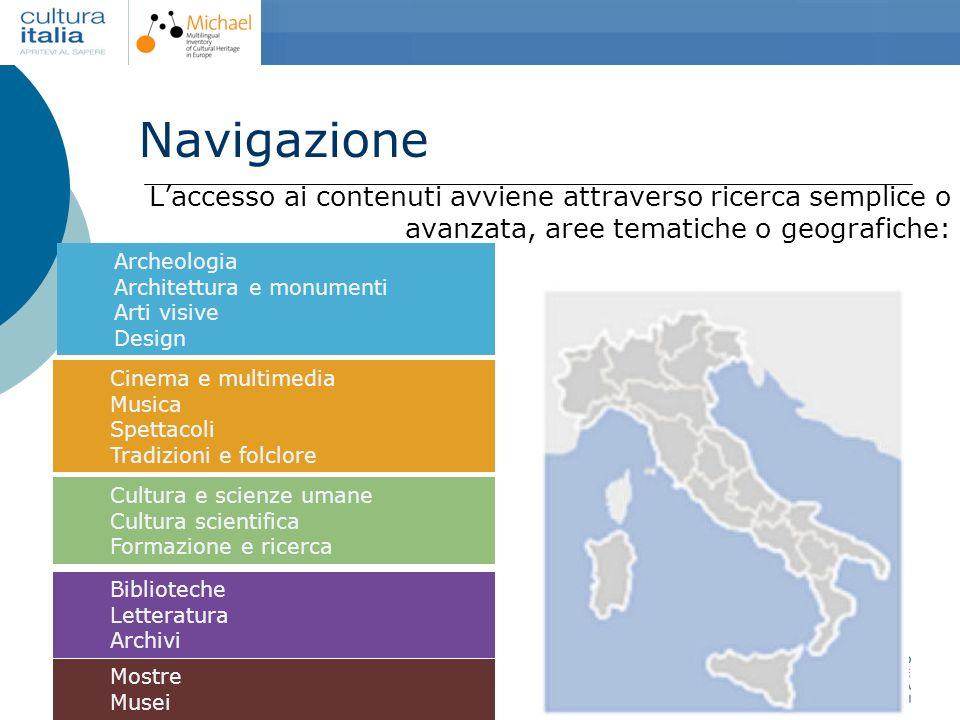 Giuliana De Francesco Torino, 16 dicembre 2006 Dipartimento per la ricerca, linnovazione e lorganizzazione Laccesso ai contenuti avviene attraverso ri