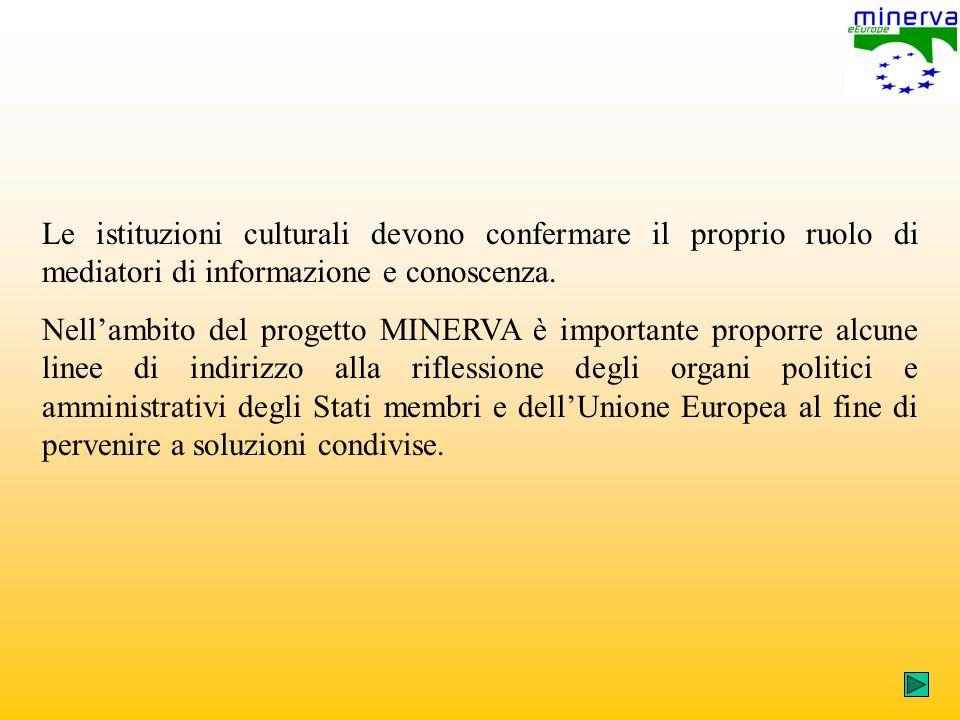 Le istituzioni culturali devono confermare il proprio ruolo di mediatori di informazione e conoscenza.
