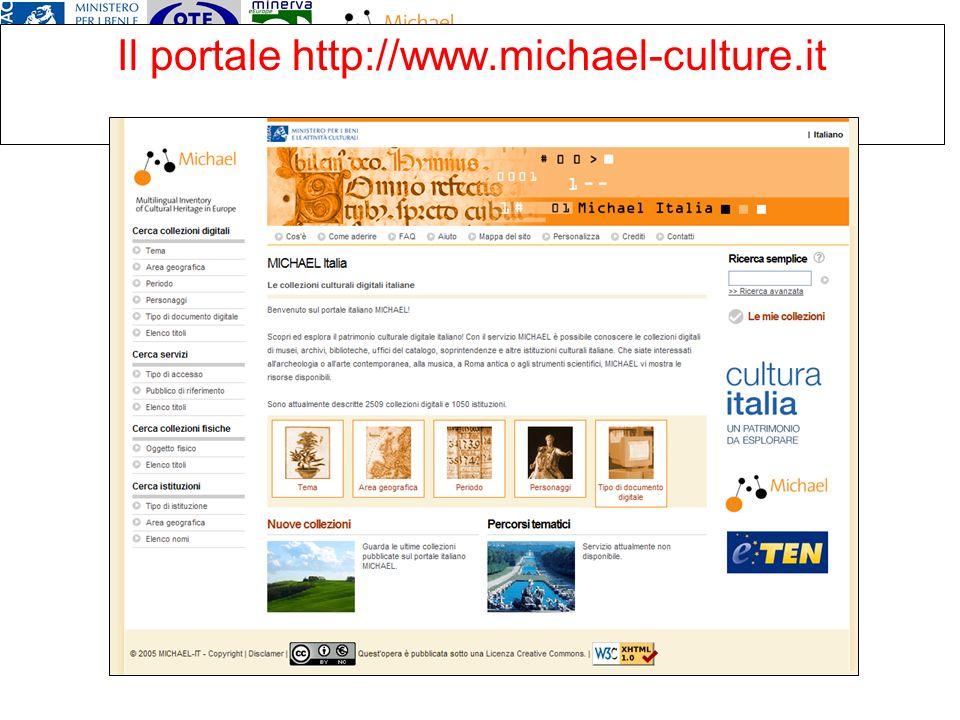 Il portale http://www.michael-culture.it