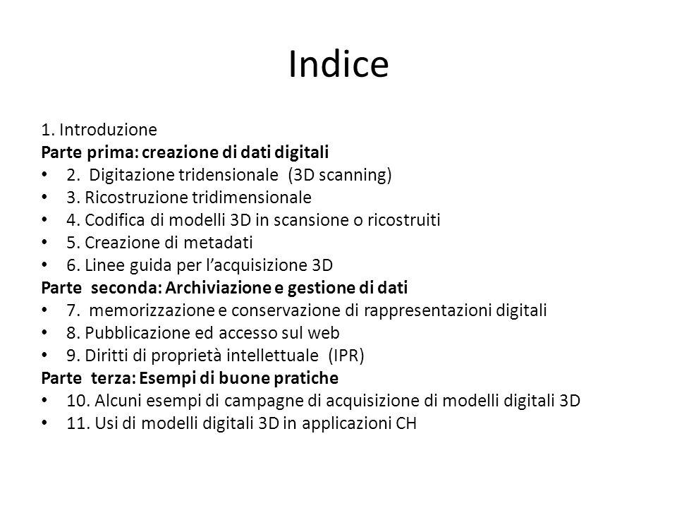 2.4 Acquisizione dati 3D scansionati / alta densità Semplificazione dei dati