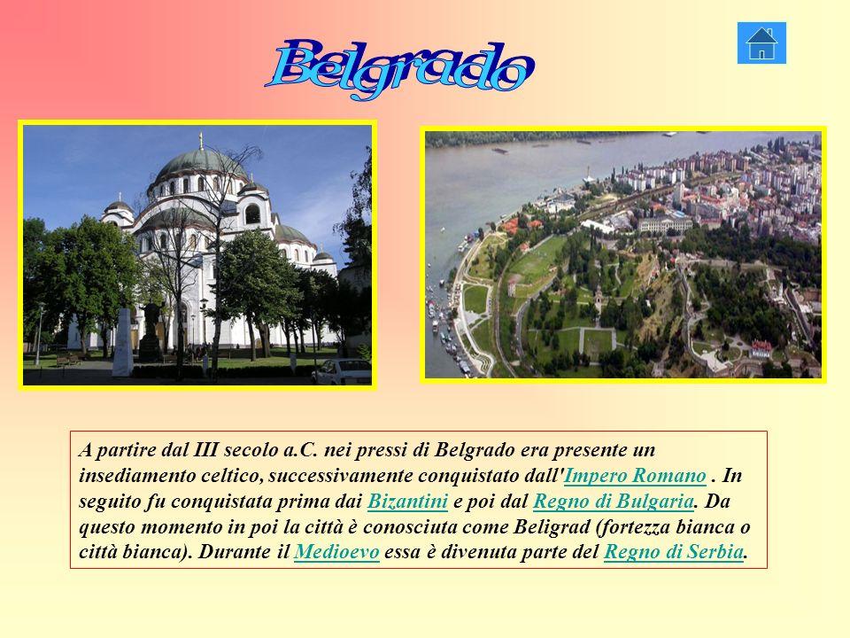 A partire dal III secolo a.C. nei pressi di Belgrado era presente un insediamento celtico, successivamente conquistato dall'Impero Romano. In seguito