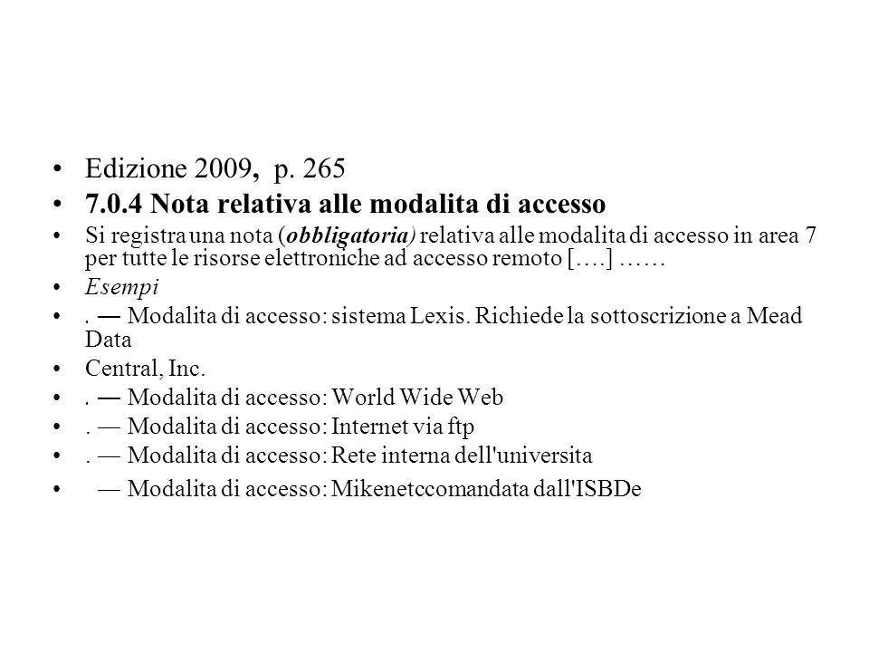 Edizione 2009, p.