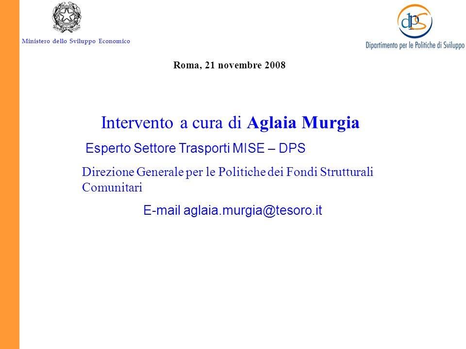Ministero dello Sviluppo Economico. Il PON RETI e MOBILITÁ B4. Asse Napoli-Bari C3. Direttrice basentana A5. Piattaforma sud-orientale A6. Piattaforma