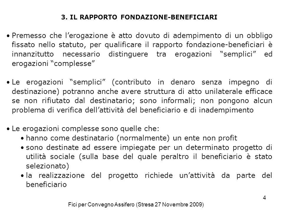 Fici per Convegno Assifero (Stresa 27 Novembre 2009) 4 3.