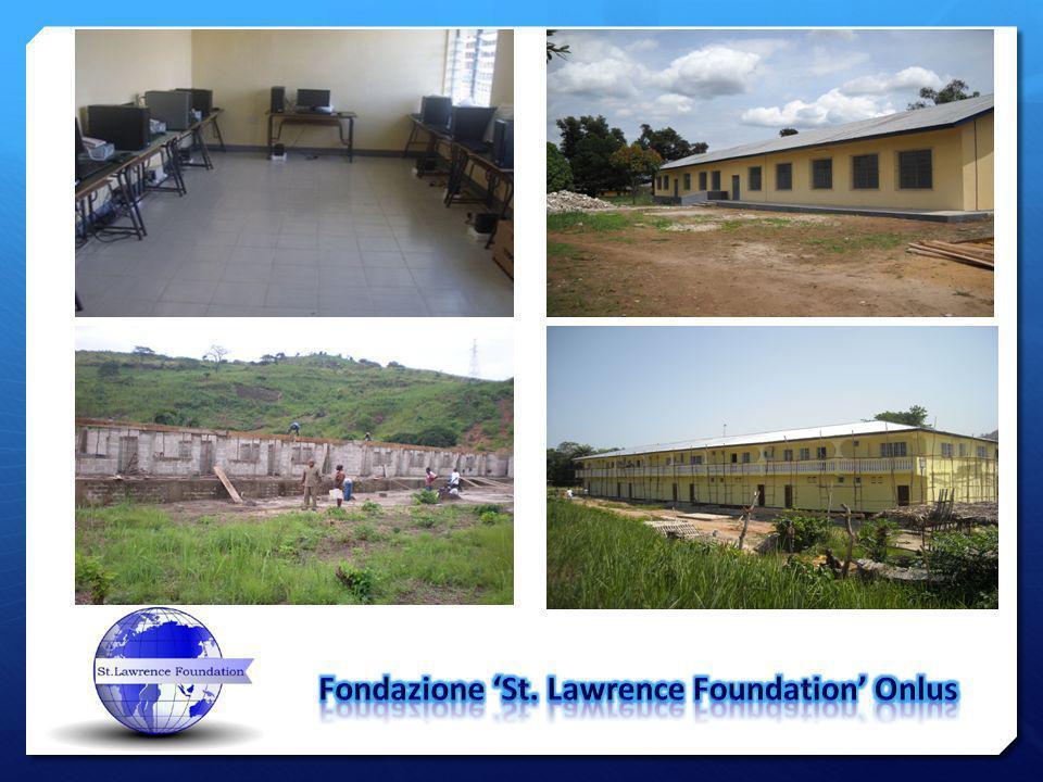 St.Lawrence Foundation Onlus Via XXIX Maggio n.18, 20027 Rescaldina (MI) Tel.