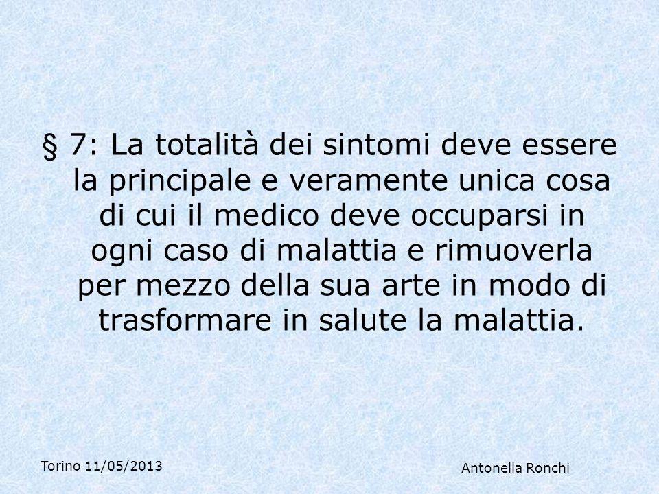Torino 11/05/2013 Antonella Ronchi Ha avuto un secondo figlio 6 anni prima, a 45 anni, e mentre allattava è andata in menopausa, con vampate di notte e depressione, e ha cominciato una terapia sostitutiva con uno spray nasale che sta continuando.