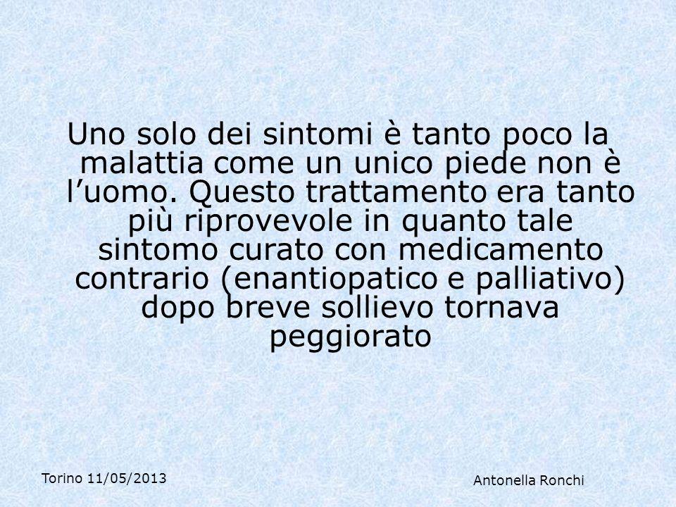Torino 11/05/2013 Antonella Ronchi Donna di 43 anni Vuole cure naturali perché odia i medici.