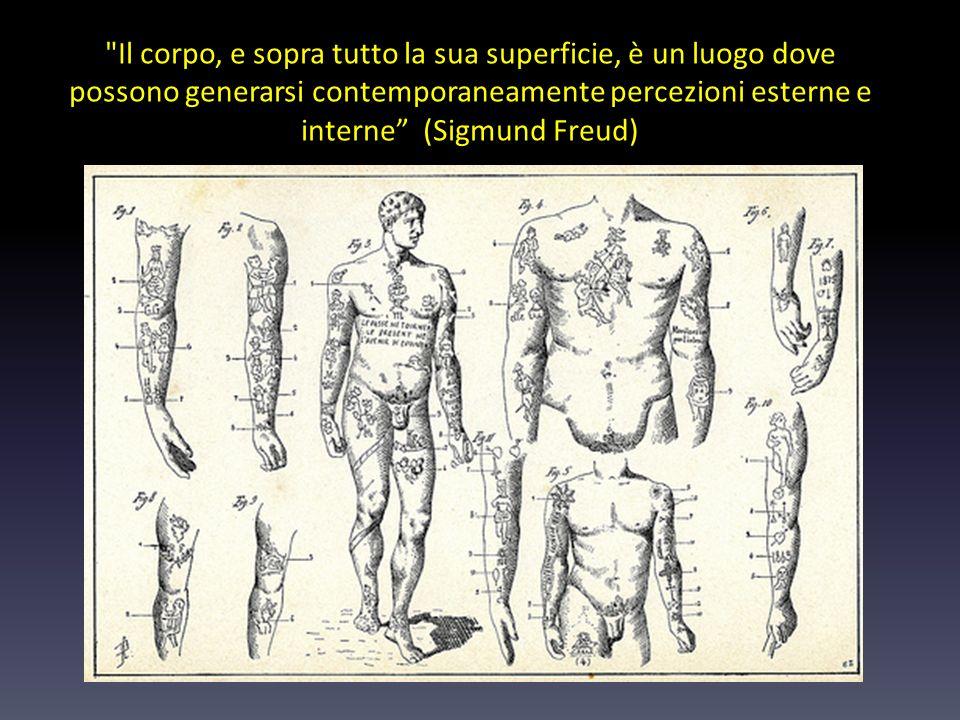 Il corpo, e sopra tutto la sua superficie, è un luogo dove possono generarsi contemporaneamente percezioni esterne e interne (Sigmund Freud)