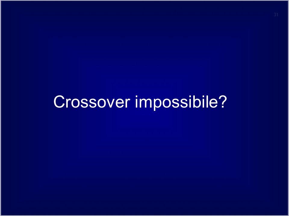 31 Crossover impossibile?