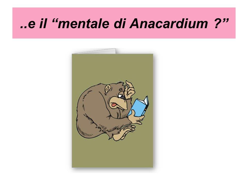 ..e il mentale di Anacardium ?