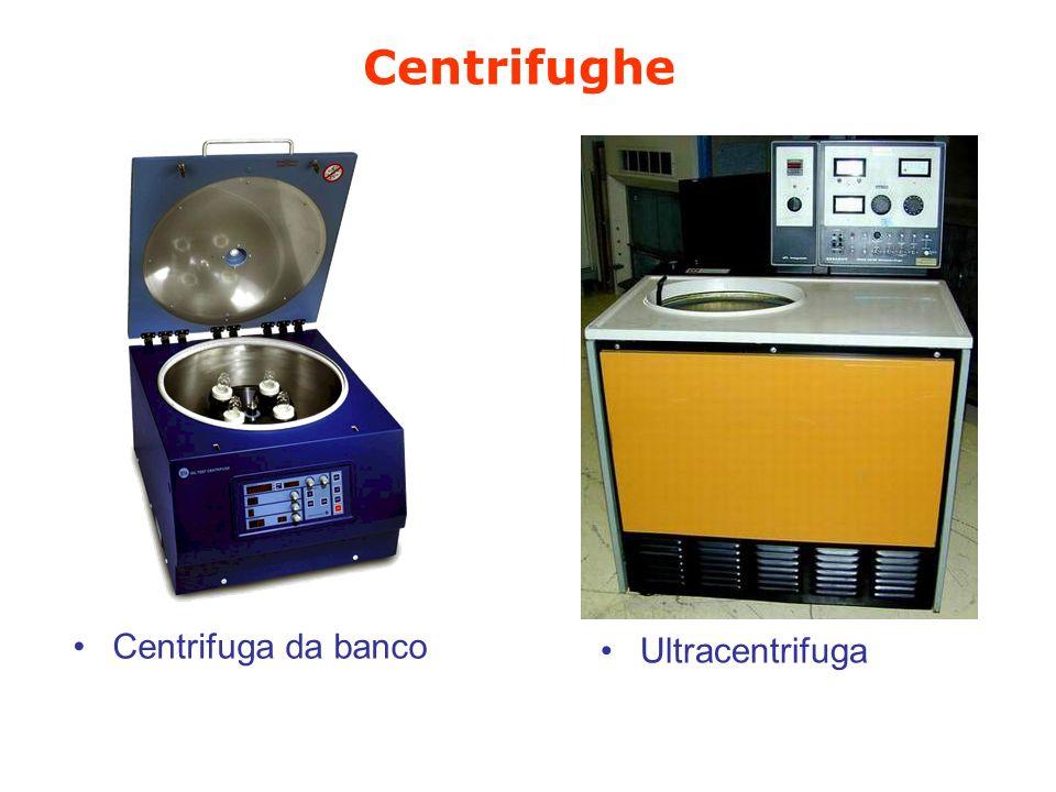 Centrifughe RPMg Da banco4000-6000 3000-7000 Micromax.