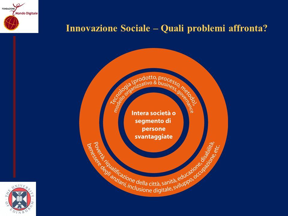 Innovazione Sociale – Quali problemi affronta?
