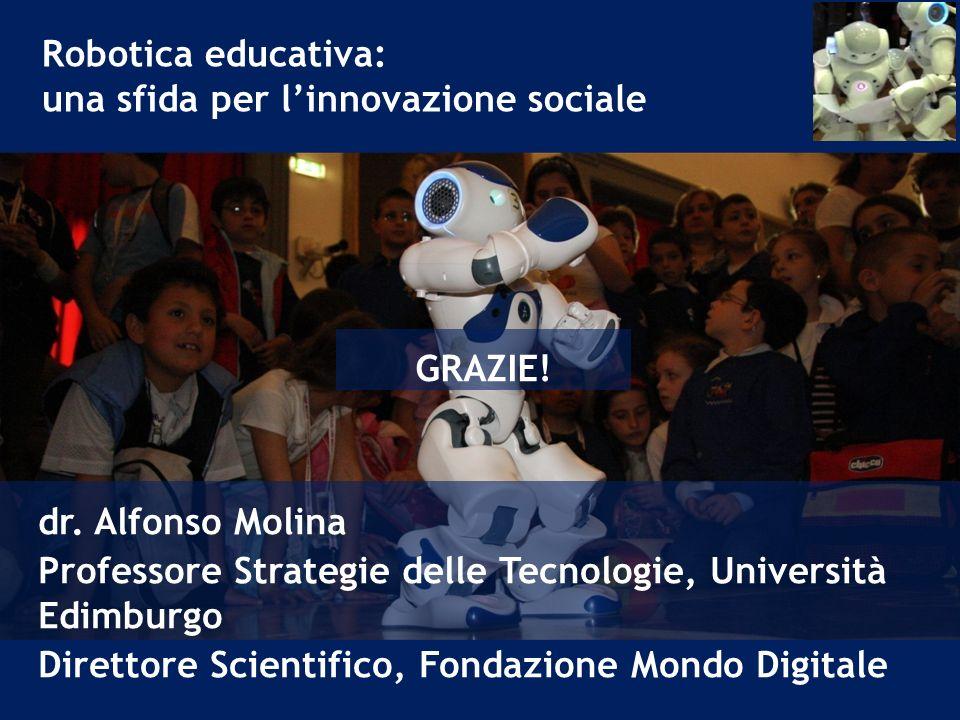 Robotica educativa: una sfida per linnovazione sociale dr.