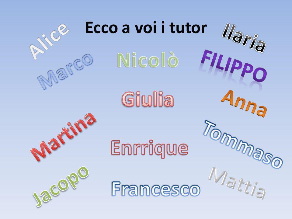 Sono Filippo, ho 10 anni, abito a Cernobbio vicino alla scuola.