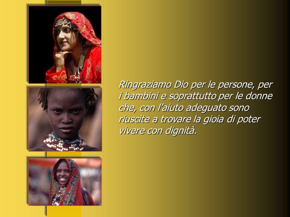 Ricordiamo in questa preghiera specialmente quella moltitudine di donne migranti vittime dellinganno di una società che usa delle persone rendendole i