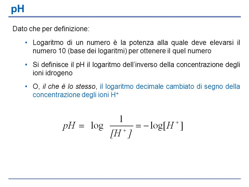 Dato che per definizione: Logaritmo di un numero è la potenza alla quale deve elevarsi il numero 10 (base dei logaritmi) per ottenere il quel numero S