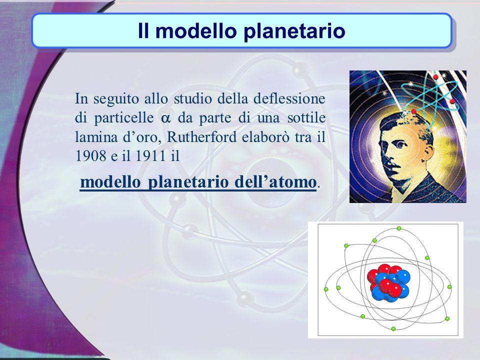Bohr Il modello atomico di Bohr è basato su due postulati: ogni orbita ha un determinato livello energetico lelettrone,passando da un orbita allaltra, assorbe o emette una determinata quantità di energia.