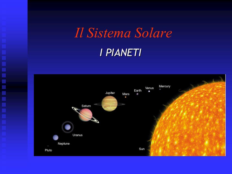 2 Il Sistema Solare Il Sole e i 9 pianeti compongono il sistema solare, che comprende anche i numerosi satelliti (o lune) dei pianeti, una fascia di asteroidi che si trova fra le orbite di Marte e Giove, meteoriti e comete.