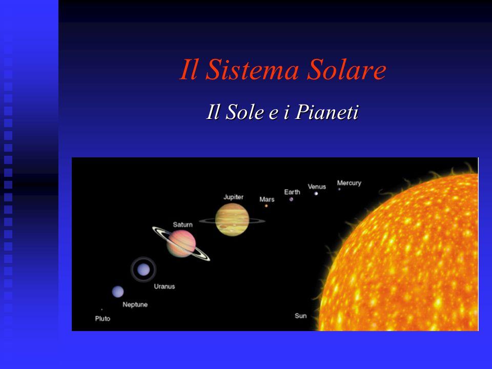 Il Sistema Solare Il Sole e i Pianeti