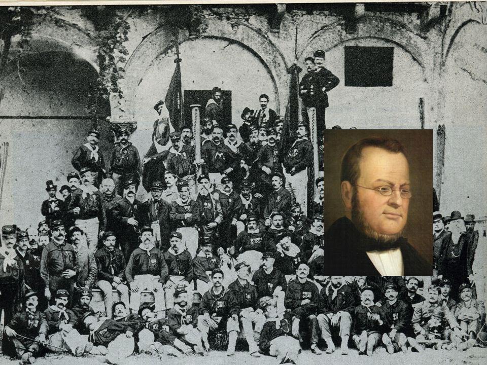 Gli uomini del Risorgimento - 1 Giuseppe Mazzini: fautore di uno stato unitario, democratico e repubblicano in un contesto federale europeo di nazioni